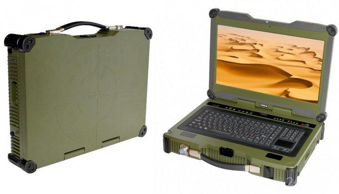 Российский «неубиваемый» ноутбук для военных и чиновников (5 фото)