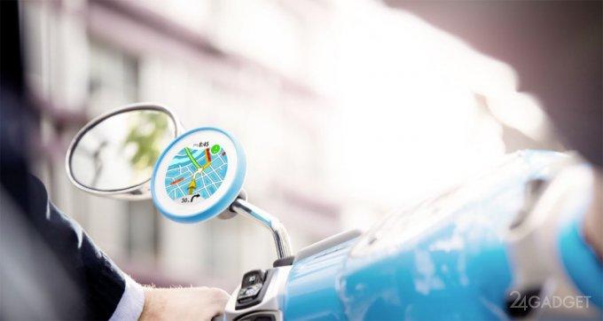 TomTom VIO — навигатор для скутеров и мопедов (19 фото + видео)
