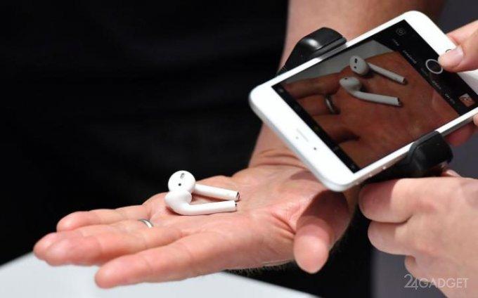 AirPods — беспроводные наушники Apple (15 фото + видео)