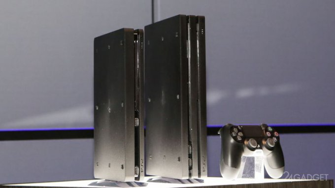 Анонс Playstation 4 Slim и PlayStation 4 Pro с поддержкой 4K (9 фото)
