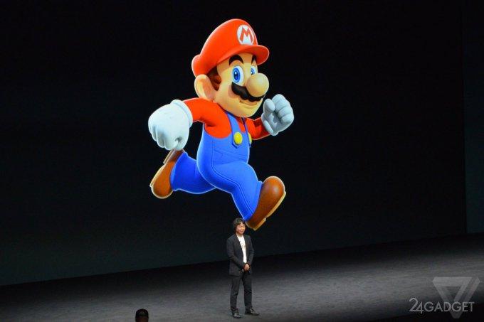 Водопроводчик Mario появится на Android и iOS (3 фото + видео)
