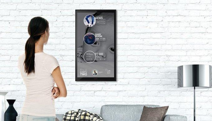 Домашний ассистент, маскирующийся под картину (9 фото + видео)
