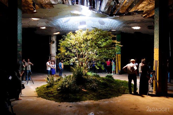 Lowline — подземный парк, освещаемый зеркалами (15 фото + видео)