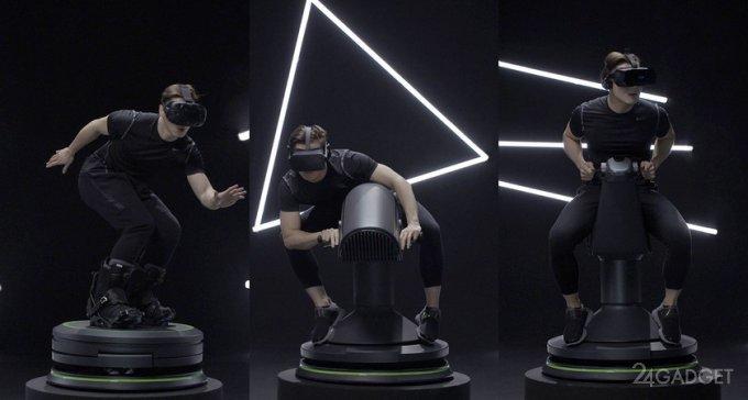 5D Totalmotion - полное погружение в виртуальную реальность (видео)