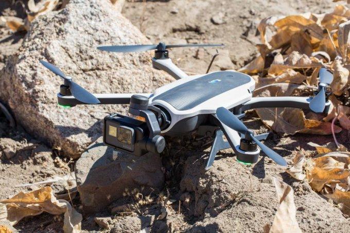 Складной квадрокоптер Karma от GoPro (10 фото)