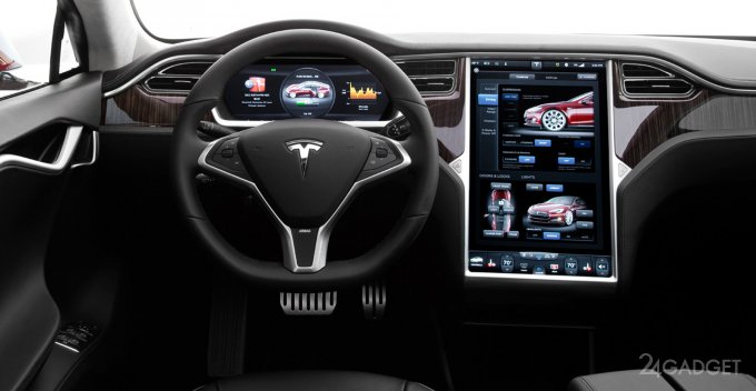 Китайцы удалённо взломали Tesla Model S (видео)