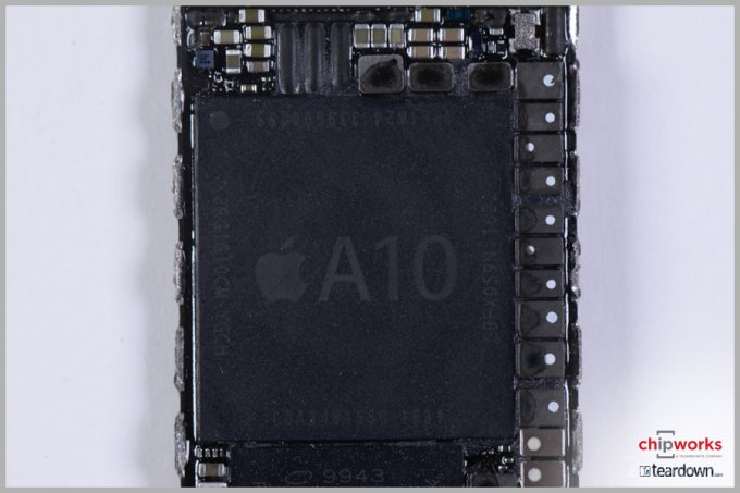 Специалисты подробно рассмотрели процессор Apple A10 Fusion