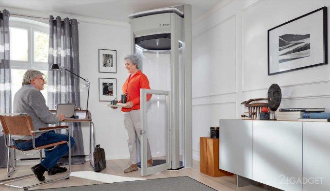 Современный личный лифт для собственного дома
