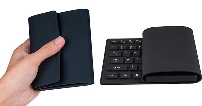 Vensmile K8 — гибкая клавиатура со встроенным мини-ПК (7 фото + видео)
