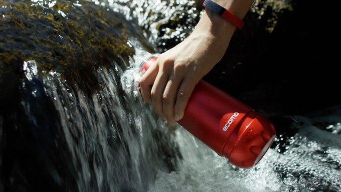 Умная бутылка для анализа и очищения воды (9 фото + видео)