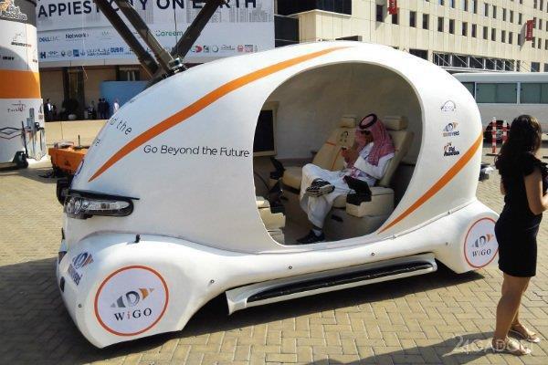 WiGo — первое 3D-печатное беспилотное авто из ОАЭ (3 фото + видео)