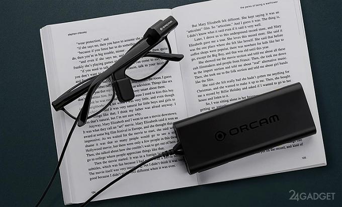 OrCam My Eye читает слабовидящим любой текст из повседневной жизни (9 фото + видео)