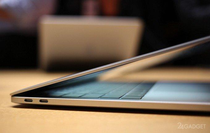 Для подключения iPhone 7 к MacBook Pro потребуется переходник