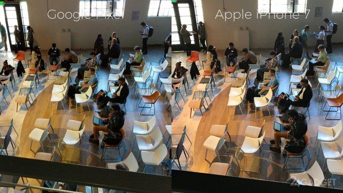 Сравнение камер Pixel и iPhone 7 (19 фото + видео)