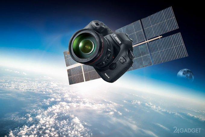 Canon отправит на орбиту Земли огромный аналог 5D Марк III