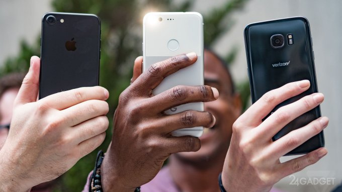 Сравнение снимков Pixel XL с iPhone 7 и Galaxy S7 edge (20 фото)