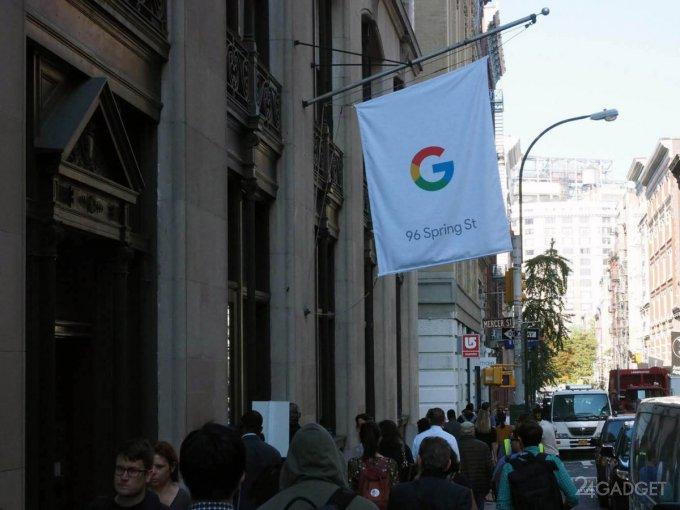 Google открыл первый фирменный магазин (23 фото)
