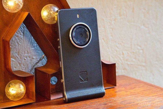 Kodak Ektra — камерофон с индивидуальностью в стиле ретро (43 фото)