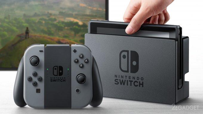 Switch — портативно-домашняя приставка от Nintendo (11 фото + видео)
