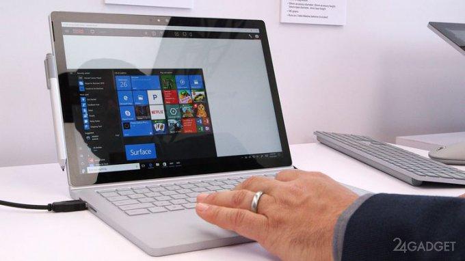 Surface Book i7 — обновленный гибридный ноутбук Microsoft (8 фото + 2 видео)