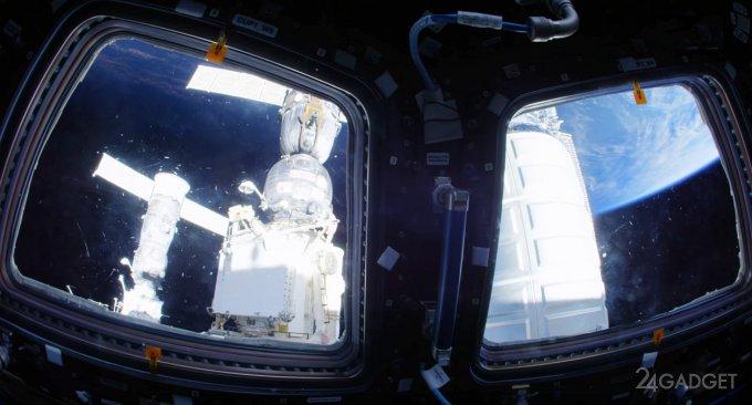 NASA показала МКС изнутри (видео)