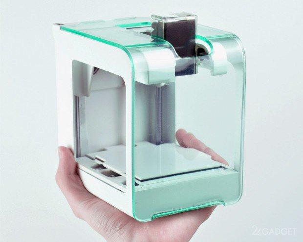Представлен самый маленький и доступный 3D-принтер (5 фото + видео)