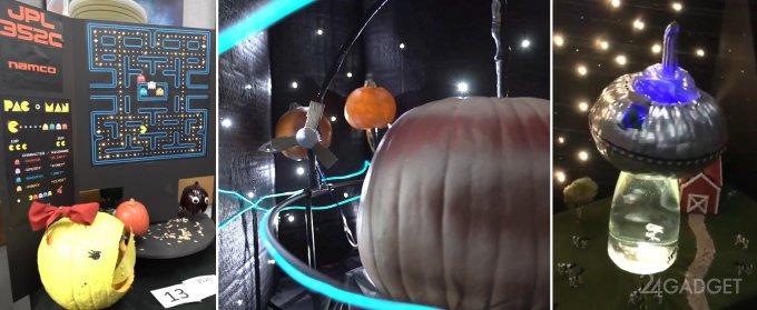 Научные проекты на Хэллоуин от сотрудников NASA (11 видео)