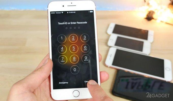 Обнаруженная уязвимость открывает доступ к фото на заблокированном iPhone (2 видео)