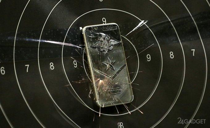 Титановый iPhone против пистолетов «Байкал 442» и Макарова (6 фото + видео)