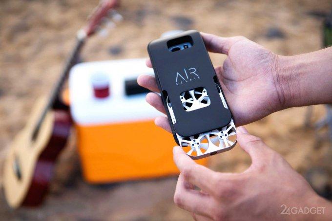 AirSelfie — неразлучный со смартфоном селфи-дрон (9 фото + видео)