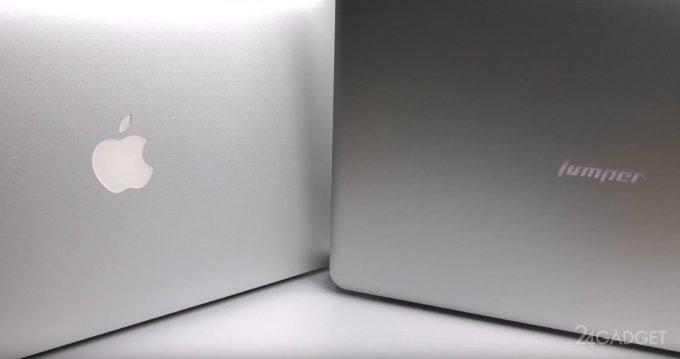 Китайский клон 13-дюймового MacBook Air (7 фото + видео)