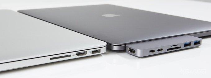 HyperDrive вернёт MacBook Pro утерянные разъёмы (15 фото + видео)
