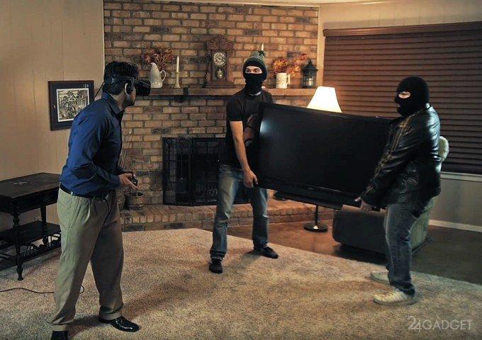 Комики высмеяли главную опасность погружения в виртуальную реальность (видео)