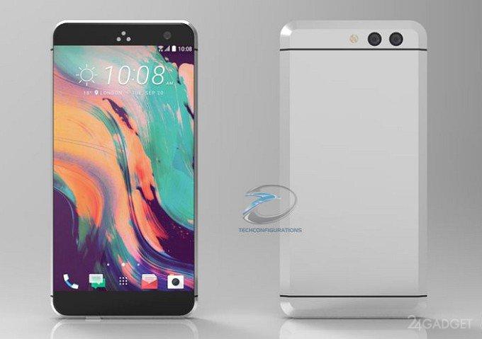 HTC 11 приписывают безрамочный дизайн, Snapdragon 835 и 8 ГБ ОЗУ