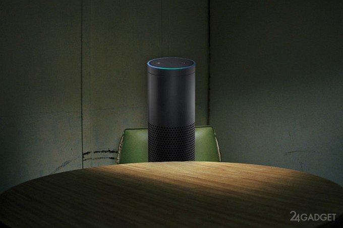 Смарт-динамик Amazon Echo допросят по делу об убийстве (3 фото)