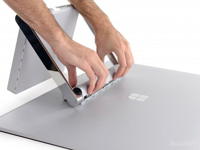 Microsoft Surface Studio получил пятерку от iFixit (23 фото)