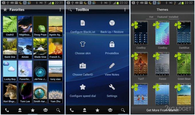 5 лучших звонилок для Android (16 фото)