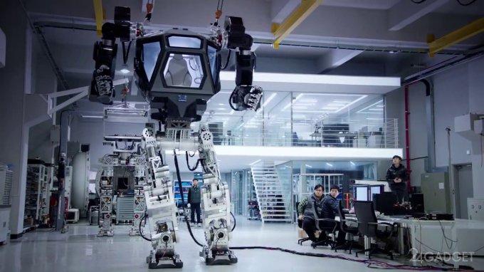 Корейцы создали собственного робомеха METHOD-1 (2 видео)