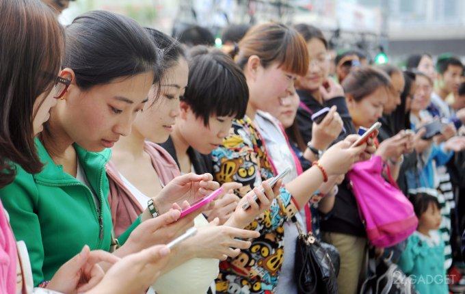 Рейтинг самых востребованных производителей смартфонов в Китае (2 фото)