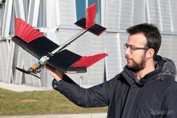 Оперение сделало дроны более маневренными (4 фото + видео)