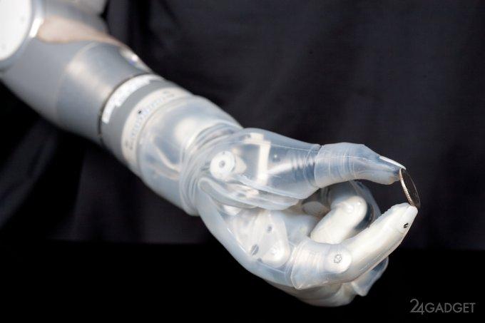 Бионическая «Рука Люка» уже доступна американским ветеранам (2 видео)
