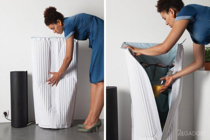 Масштабируемый малогабаритный холодильник Frigid Air (6 фото)