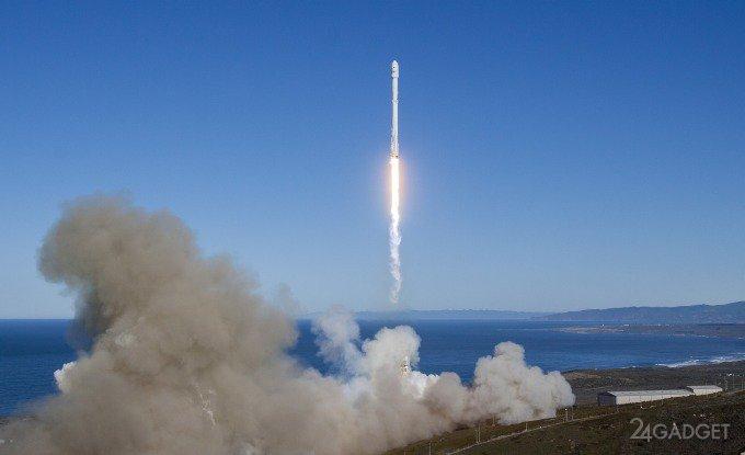 Компания SpaceX возобновила полёты Falcon 9 (8 фото + видео)