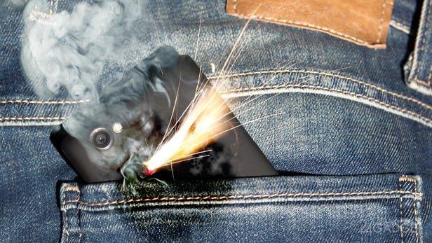 Аккумуляторы смартфонов предлагают оснастить мини-огнетушителем