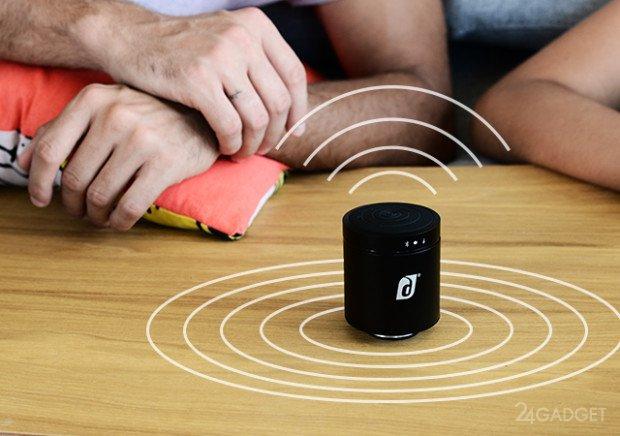 Cisor — беспроводная Bluetooth-колонка без динамика (11 фото + видео)