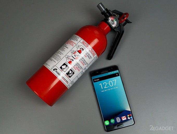 Официально названа причина самовозгорания Galaxy Note 7