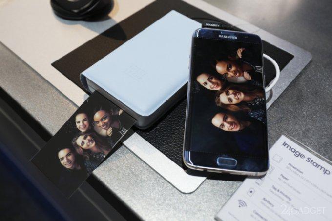 Samsung Image Stamp — карманный фотопринтер для смартфонов (11 фото)