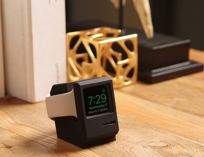 Elago W3 Stand превращает Apple Watch в мини-Macintosh (6 фото)