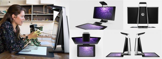 Моноблок HP Sprout Pro G2 составит конкуренцию Microsoft Surface Studio (16 фото + видео)