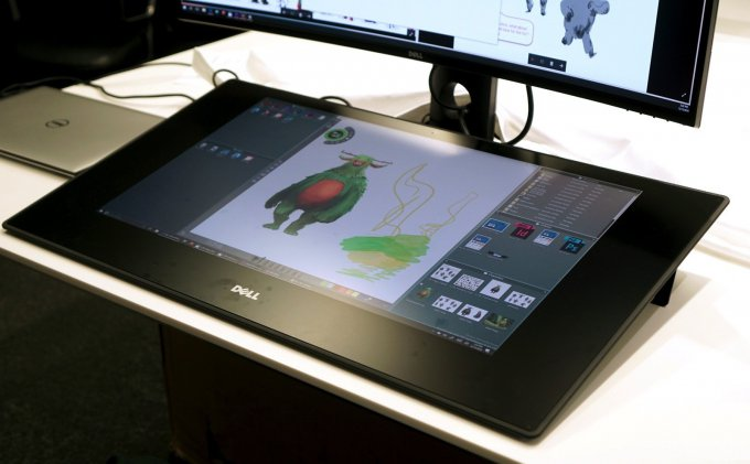 Панель Dell Canvas, как альтернатива Microsoft Surface Studio (18 фото)